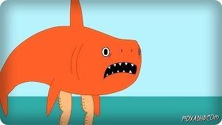 THE LITTLE MERMAID EXCEPT SHARK
