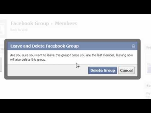 How To Delete A Facebook Group | Delete Facebook Group