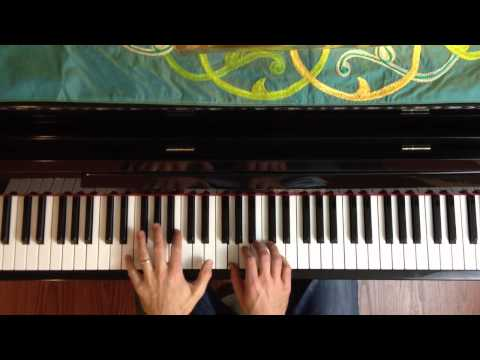How great is our god easy piano chord lesson