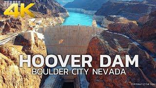 HOOVER DAM - USA, Nevada, Boulder City, Travel,  4K Ultra HD