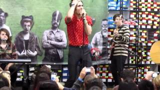 """The All American Rejects at the Irvine Spectrum """"Fast and Slow"""""""