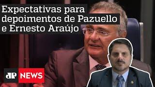 Marcos do Val: 'Renan Calheiros está tendo uma atitude muito passional na CPI da Covid'