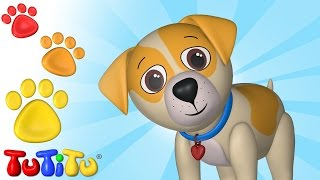 TuTiTu Animals | Animal Toys for Children | Dog and Friends