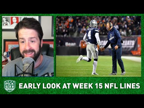 NFL Week 15 Picks, Early Look at Lines, Betting Advice I Pick Six Podcast