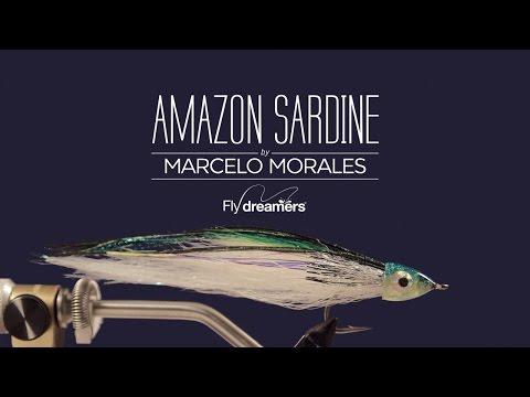Fly Tying: Amazon Sardine