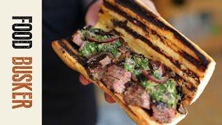Steak Sandwich Brazilian Style   Food Busker