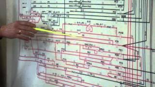 ТЭМ2 электр.схема 1.2 Подкачка топлива, прокачка масла, проворот