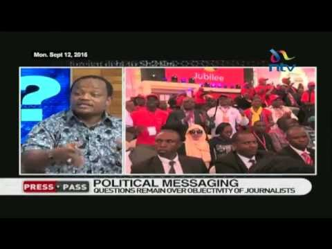 #PressPass:  Political messaging