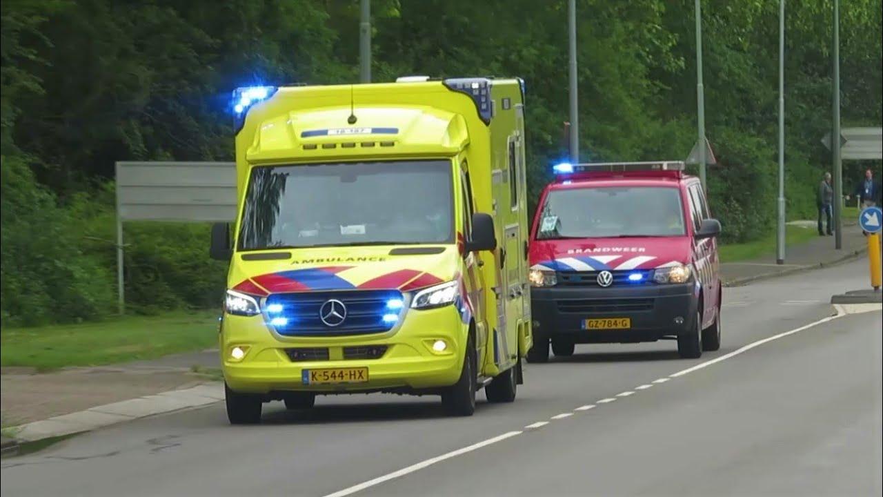 #25 (Primeur) Verschillende Hulpdiensten met spoed naar grote brand in Dordrecht