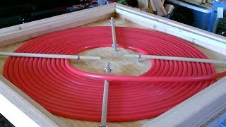 "DIY ""PEX COIL"" Solar Water Heater! - High temps! - No crimping! - Sunsafe! - PEX Made Easy!"