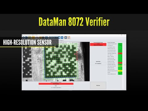 Dataman 8072 Series Barcode Verifiers