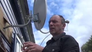 Как поймать сигнал триколор тв самостоятельно без прибора