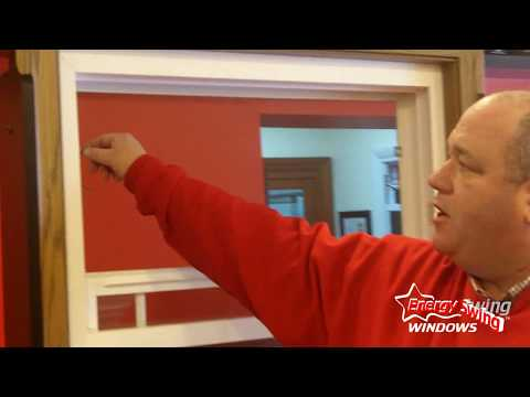 Client consultant, Don Darragh, is here to show how the Energy Swing double hung window and screen works for optimal cleaning and operation.