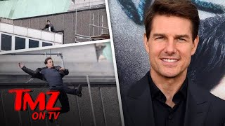 Tom Cruise Injured in 'Mission Impossible 6' Stunt | TMZ TV