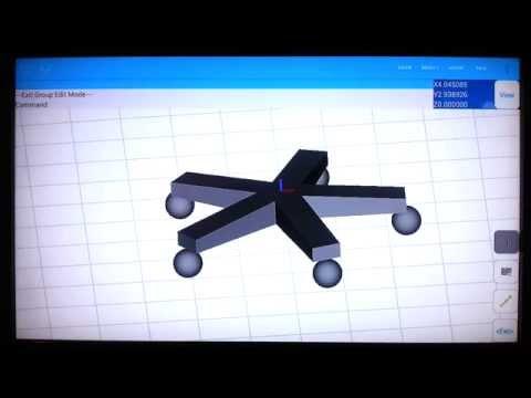 Video of AutoQ3D CAD