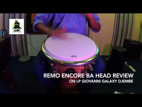 Drumhead Review : REMO Encore Ba Head on LP Giovanni Galaxy Djembe (HD) | Drum Simfoni