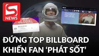 Sơn Tùng khiến fans 'phát sốt' khi xuất hiện chễm chệ trên trang chủ Billboard