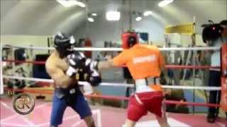 EXCLUSIVE! SHANE MOSLEY CARL FRAMPTON SPARRING FOOTAGE 4/15/15! SHANE RETURNING TO RING 2015?