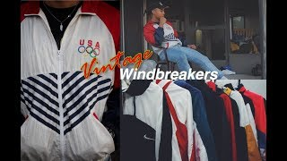Mens Fashion  How To  Vintage Windbreakers 90s