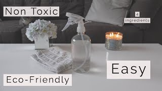 Homemade Household Cleaner | MINIMALIST | Eco-Friendly | 2019