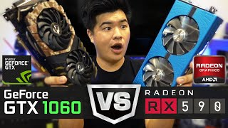 Download Video 萬元內中階卡王終極對決! AMD RX 590強勢登場! GTX 1060地位要不保了嗎? | JING打細算 MP3 3GP MP4