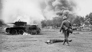 """II WŚ. Wojna Rosyjska. Pochód na wschód, operacja """"Barbarossa"""""""