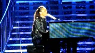 Alicia Keys - Pray for forgiveness, Diary Arena di verona 2 Maggio 2010