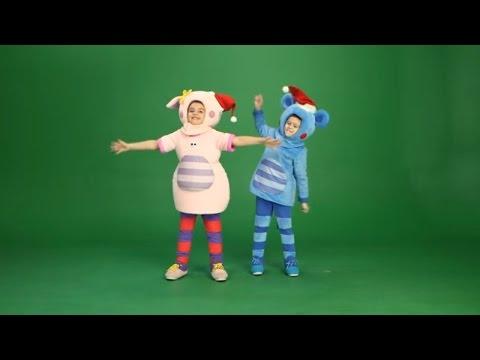 КУКУТИКИ за кадром -🔥 Расколбас танец Поросенка и Мышонка для🎄 В лесу родилась елочка