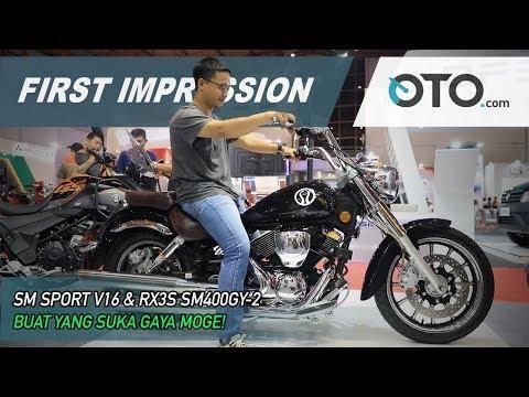 SM Sport V16 & RX3S SM400GY 2 | First Impression | OTO.com