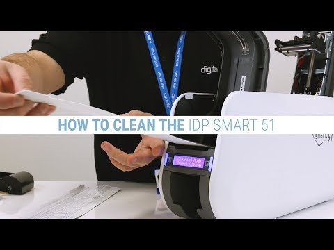 How to Clean the IDP Smart 51 ID Card Printer