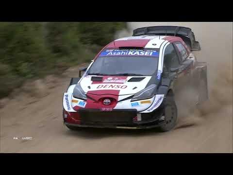 WRC 2021 第5戦ラリー・イタリア 日曜日ハイライト動画2/2