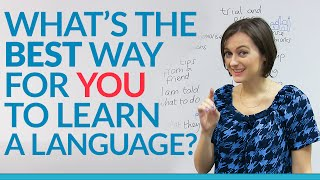 Whats Your Learning Style? The BEST Way For YOU To Learn A Language.