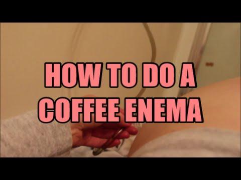 My First Coffee Enema - How to do a Coffee Enema