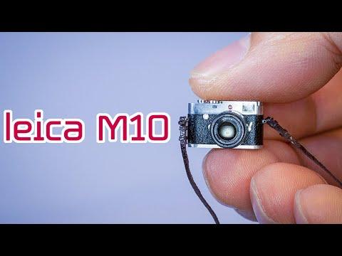 Making a Mini Leica M10 Camera