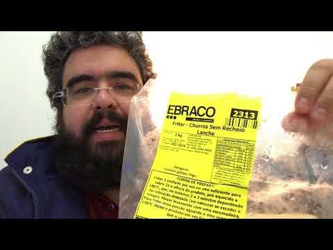 Etiquetas e embalagens para alimentos congelados *** Ebraco Alimentos Congelados *** Senhor Coxinha