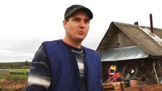 Фермерское хозяйство в деревне Дулёво