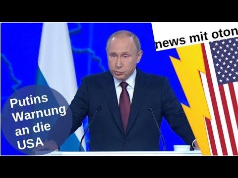 Putins Warnung an die USA [Video]