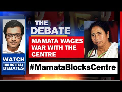 Mamata Banerjee Opposes Central Teams In West Bengal | The Debate With Arnab Goswami