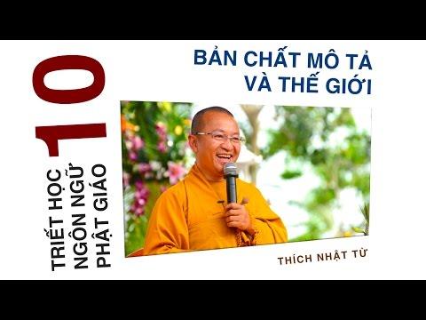 Triết học ngôn ngữ Phật giáo 10: Bản chất mô tả và thế giới (19/06/2012) Thích Nhật Từ