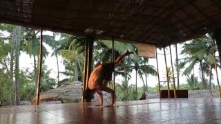 Yoga Demo in Goa 2017