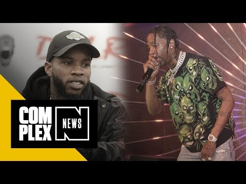 Video Shows Altercation Between Travis Scott and Tory Lanez