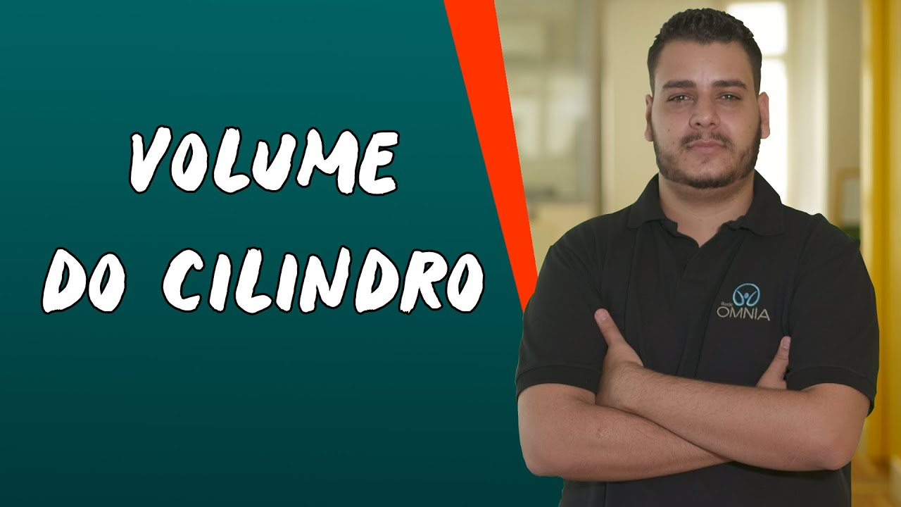 Volume do Cilindro