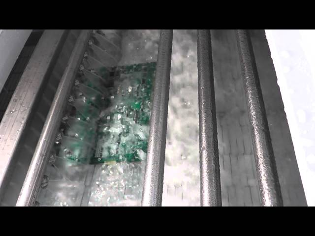 HD footage of the Technical Devices Company's Flood Box in operation on a Nu/Clean 800 Series Inline Cleaner