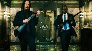 John Wick 3, a popular action movie in Europe and America, shows violent aesthetics to angry killers