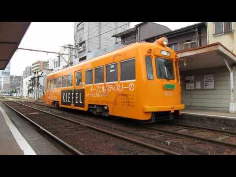 阪堺電車上町線351形住吉公園行き発車@松虫駅