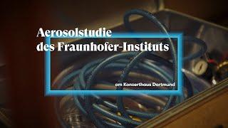 Konzerthaus Dortmund präsentiert Ergebnisse der Aerosolstudie