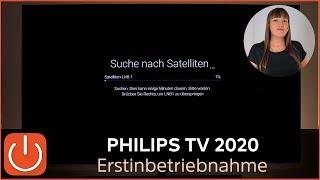 Philips TV Ersteinrichtung Erstinstallation LineUp Geräte 2020 Thomas Electronic Online Shop