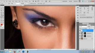 How to add Makeup in photoshop
