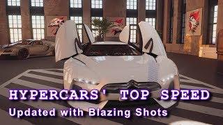The Crew 2: Hypercars' Top Speed (Blazing Shots update)