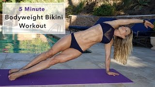 5 Minute Fat Burning Bikini Workout #83 by Zuzka Light